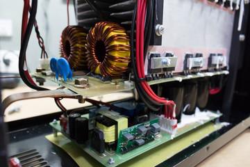 electronic circuit board  in Welding