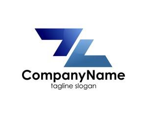 company name, logo, letter z