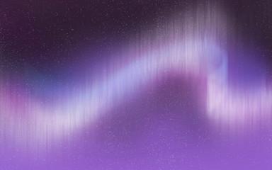 Aurora light illustration background wallpaper