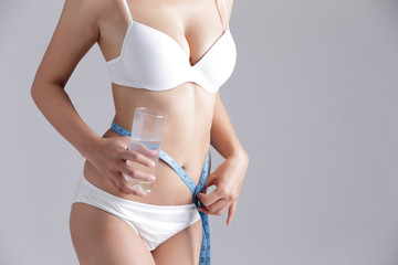water and health woman body
