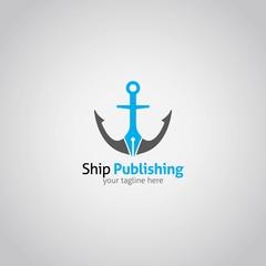 Ship Logo Design Vector
