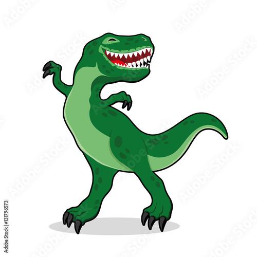 Cute dinosaur.