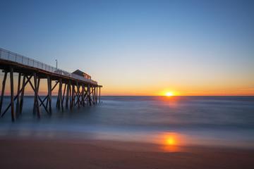 Sunrise near Belmar Fishing Pier