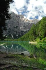 Lago di Braies - Pragser Wildsee, South Tyrol, Dolomites, Italy