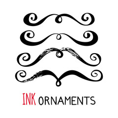 Ink ornaments