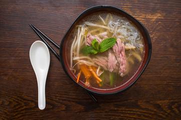 Vietnamese Pho Beef Soup
