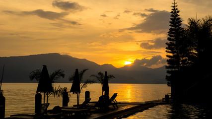 Odpoczynek, relaks nad jeziorem w SPA