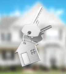 Chiavi di casa nuova o villa o appartamento