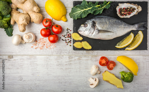 Fish rich in protein vitamins omega 3 with vegetables for Fish rich in omega 3