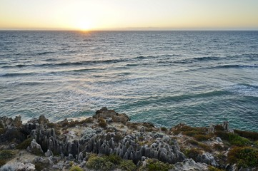 The Sunset Coast drive north of Perth along the Indian Ocean in Western Australia