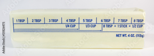 1 stick of butter:
