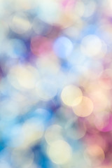 Abstract blue-violet bokeh background