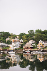 Houses of Lobster Cove