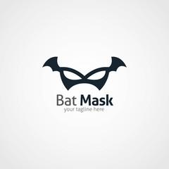 Bat Logo Design Template. Vector Illustration