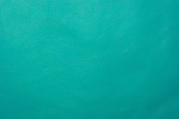 Turquoise leather background