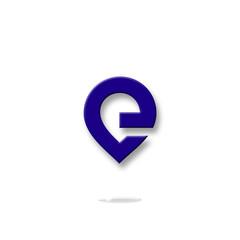 e, logo e, letter e, icon e, symbol e, vector, alphabet, font, bussines