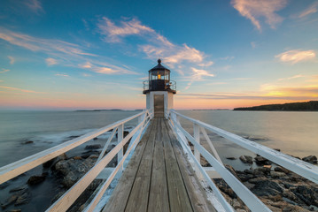 Marshall Point Lighthouse Sunset  Wall mural