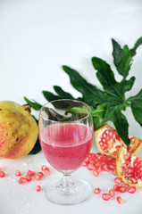 Pink Pomegranate Juice