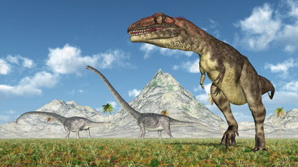 Mapusaurus and Omeisaurus