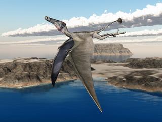 Flugsaurier Dorygnathus