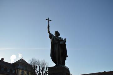 Statue von Bonifatius in Fulda