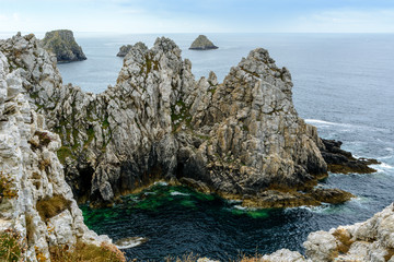 Points of Pen-Hir, Presque ile de Crozon, Brittany, France