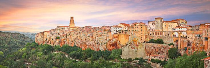 Deurstickers Toscane Pitigliano, Grosseto, Tuscany, Italy