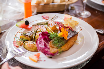 lachs meal