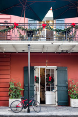 New Orleans French Quarter exterior door