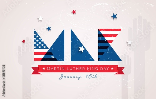 """""""Martin Luther King Day flyer, banner or poster. Holiday ..."""