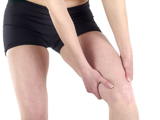 Acute pain in a knee.