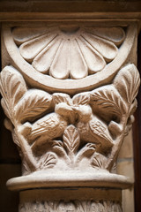 Aechitectural details from Natural History Museum in London