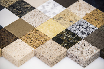 Granite counter tops for kitchen and bathroom surfaces