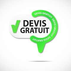 épingle bouton web : devis gratuit