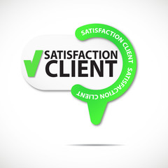 épingle bouton web : satisfaction client