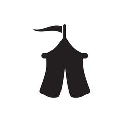 tent icon illustration