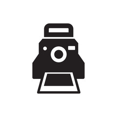 camera printing photo icon illustration