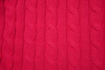 Aran woolen cabling knitting pattern background