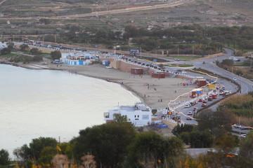 Wybrzeże maltańskie w rejonie miejscowości Mellieha