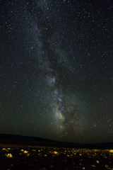 Unsere Galaxie über der Wüste Gobi