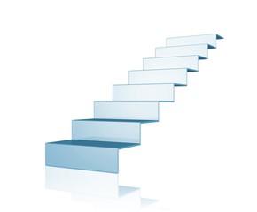 Treppe - Weg nach oben