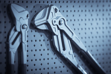 Two plumber pliers