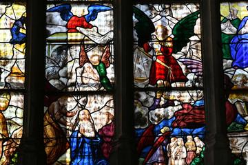 Buchy, France - june 23 2016 : Notre Dame church