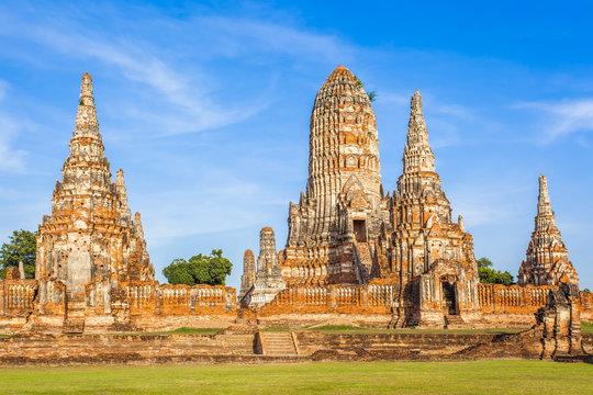 temple de Wat Chai Watthanaram, Ayutthaya, Thaïlande