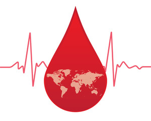 give blood to the world