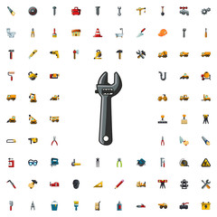 wrench icon illustration