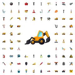 excavator icon illustration