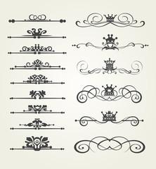 Calligraphic design Elements for Your Design