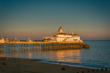 View of Eastbourne Pier at Sunset