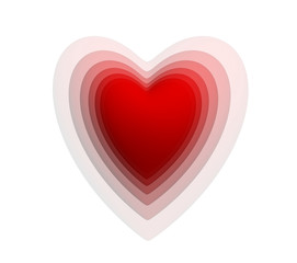 Cœur saint valentin